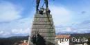 Légion Etrangère memorial statue, Bonifacio