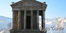 Garni Temple, roman bathes