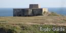 Old radar station Port-Coton, Bangor, Belle-Ile, Brittany