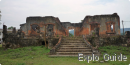 French old ruined hospital, Muang Khoun