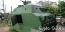 Bangkok Railway Station armoured train