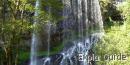 """La Baume waterfall """"Haute Loire"""""""