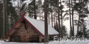 Orhall Viking house, Orbaden, Böllnass