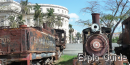 Steam locomotives museum, Parque de la Fraternidad, La Habana