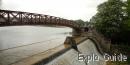 Lac de Pont dam, Semur en Auxois, Burgundy