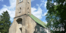 Kirbla kirik, the smallest stone church in Estonia