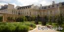 Jardin Anne Frank garden, Le Marais, Paris
