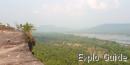 Pha Taem historic wall, Khong Chiam, Isan