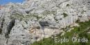 Garagaï hole, Sainte Victoire mountain, Aix