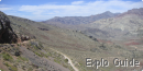 Titus canyon drive, Death Valley