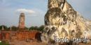 Wat Lokayasutharam reclining Buddha Ayutthaya