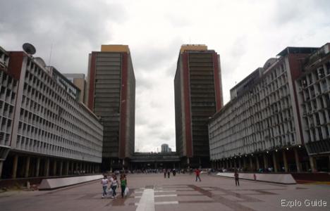 Centro Simon Bolivar towers, Caracas centro