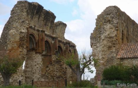 Ruins of Priory's church of Saint-André-de-Rosans