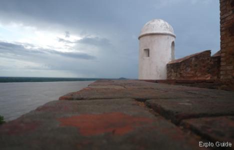 Castillos de Guyana forts, Puerto Ordaz