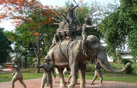 The Elephant Kraal, Ayutthaya
