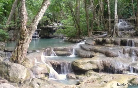 Erawan waterfalls, Kanchanaburi