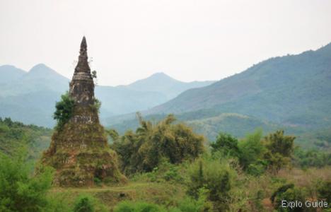 That Foun Stupa, Muang Khoun, Xieng Khouang