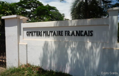 French Military cemetery, Vientiane