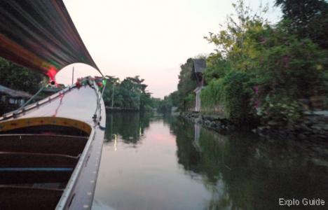 Klongs boat tour, Chao Phraya, Bangkok