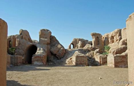 Kyrkyz Kala fortress, Termez