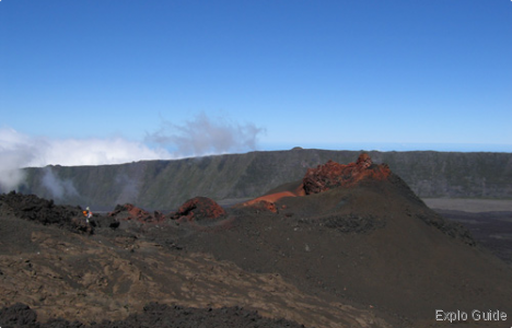 La Fournaise volcano, Réunion island