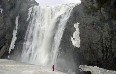 Montmorency falls, Quebec