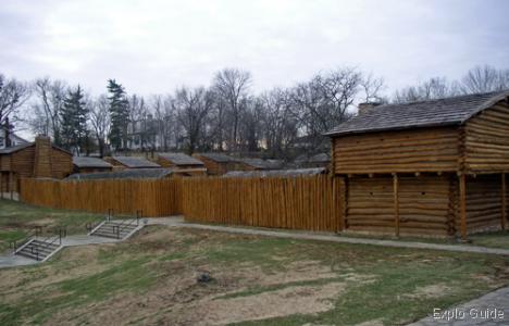 Old Fort Harrod, Kentucky