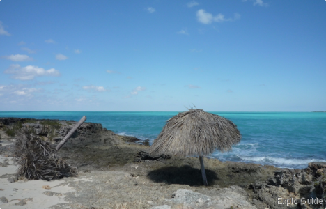 Playa Perla Blanca, Cayo Santa Maria, lost resort