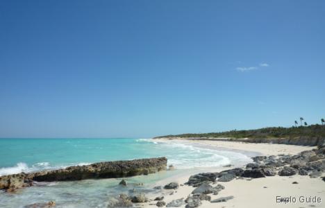 Playa Perla Blanca, Cayo Santa Maria, beach and nature reserve