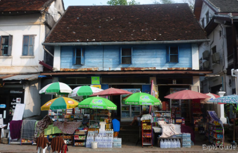 French colonial architecture tour, Luang Prabang