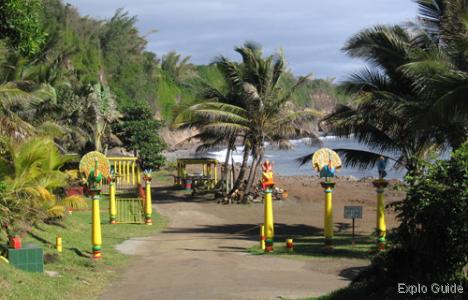 Sainte-Suzanne Hindu temple, Réunion island