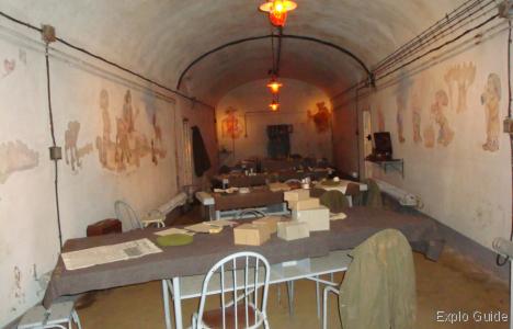 Simserhof Maginot fortress, Bitche, Moselle