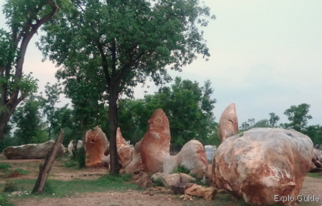 Wang Dong stone quarries, Kanchanaburi