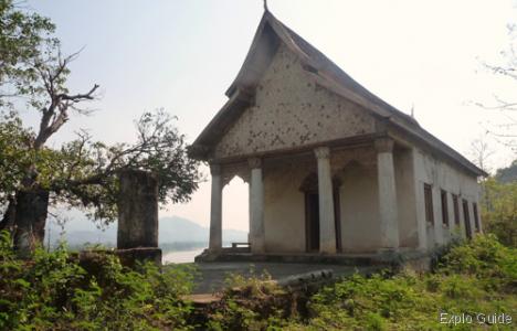 Wat Chom Phet temple, Luang Prabang