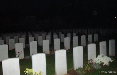 British military cemetery, Giavera, Italia