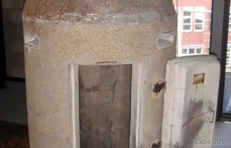 World's smallest bunker, German Museum of technology, Berlin