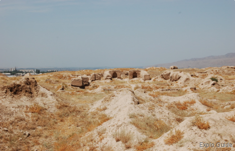 Penjikent Sogdian Ancient city