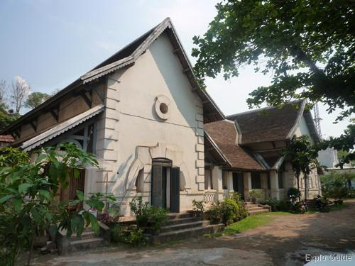 French colonial architecture tour Luang Prabang ExploGuide off